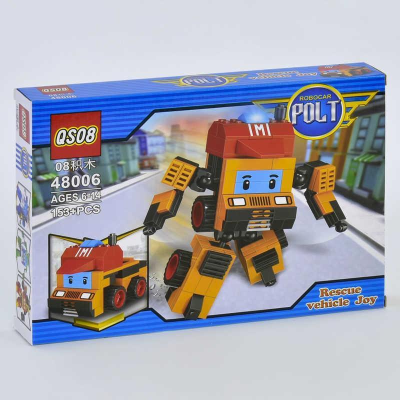 """Конструктор 2в1 48006 """"ПОЛИ"""" (108/2) 153 дет, в коробке"""