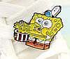 Губка боб спанч боб брошь брошка значок Sponge Bob металл с миской, фото 5