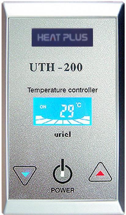 Терморегулятор UTH-200 Silver