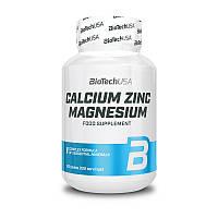 Кальций цинк магний BioTech Calcium Zinc Magnesium ( 100 таб)
