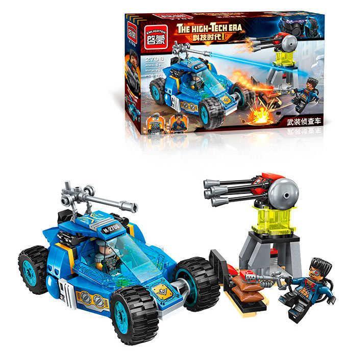Конструктор Brick 2706 (48) Вездеход-разведчик, 191 деталь, в коробке