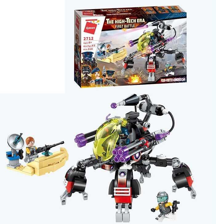 Конструктор Brick 2712 (18) 318 деталей, в коробке