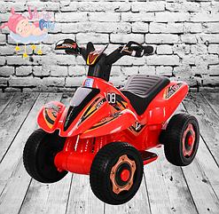Детский электрический квадроцикл BAMBI M 3560E-3 красный