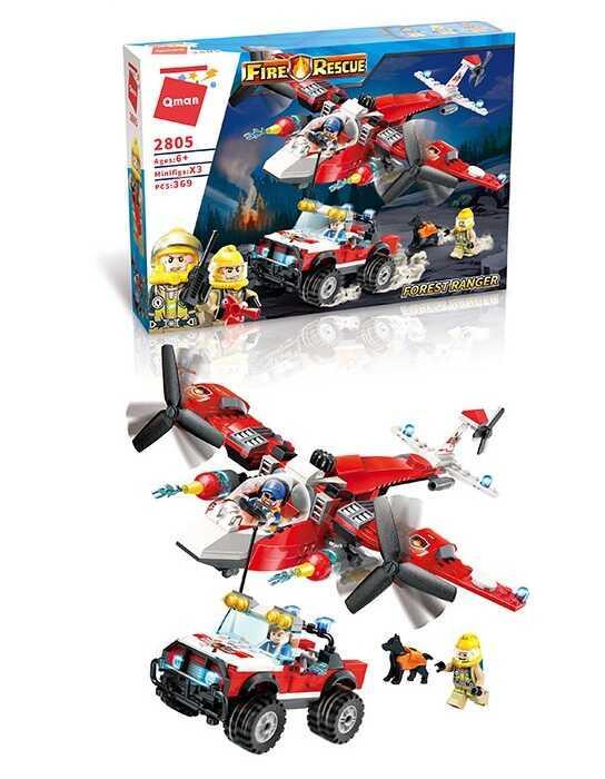 Конструктор Brick 2805 (12) 369 деталей, в коробці