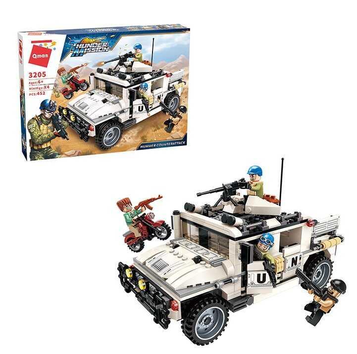 Конструктор Brick 3205 (12) 452 детали, в коробке