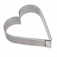 Перфорированное кольцо сердце, 1 шт
