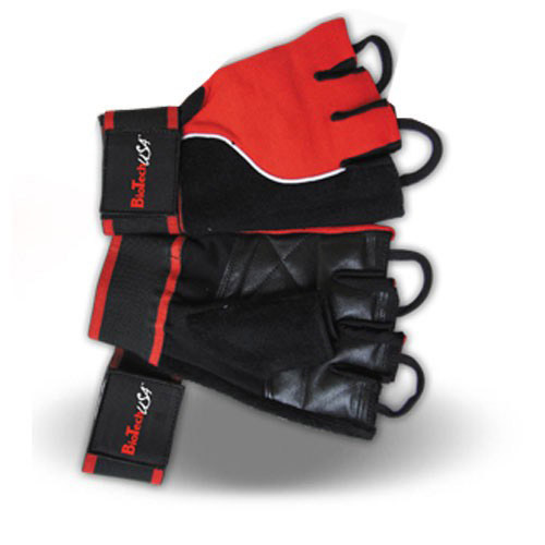 Перчатки в зал BioTech Gloves Memphis (red-black)