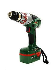 Аккумуляторная дрель-шуруповерт Status CT 14.4 M ST3-270045 Темно-зеленый, КОД: 1705090