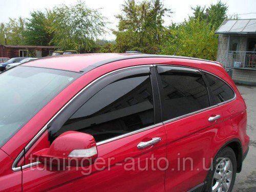 Дефлекторы окон (Ветровики) Honda CR-V 2007-2012 (EGR/Австралия)