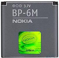 Аккумулятор Nokia BP-6M (1070-1150 mAh) 12 мес. гарантии