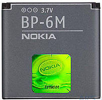 Акумулятор Nokia BP-6M (1070-1150 mAh) 18 міс. гарантії