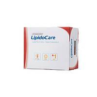 Тест-полоски ЛИПИДЫ LipidoCare № 1 Meddiv (продается кратно 5 с чипом 1 шт.)