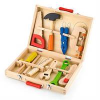 Ігровий набір Viga Toys Валізу з інструментами 10 шт. (50387)