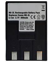 Акумулятор для фотоапарата Canon NB-3L (800 mAh)