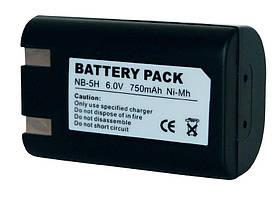 Акумулятор для фотоапарата Canon NB-5H (750 mAh)