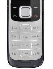 Клавиатура (кнопки) Nokia 2720 Silver