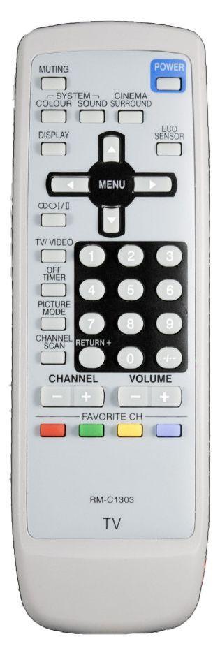 Пульт для телевізора JVC RM-C1303