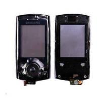 Корпусне скло дисплея Samsung U600 with frame (copy) black