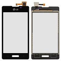 Сенсор (тачскрін) для телефону LG Optimus L5 E450, Optimus L5 E460 Black