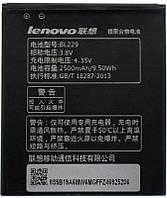 Аккумулятор Lenovo A808T IdeaPhone / BL229 (2500 mAh) 12 мес. гарантии, фото 1