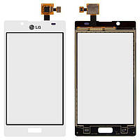 Сенсор (тачскрін) Lg Optimus L7 P700, Optimus L7 P705 (original) White