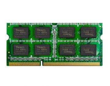 Оперативная память для ноутбука Team SO-DIMM 8Gb DDR3 1600 (TED38G1600C11-S01)