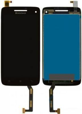 Дисплей (экран) для телефона Lenovo S960 Vibe X + Touchscreen Black