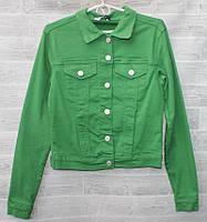 """Куртка женская джинсовая на пуговицах, размеры S-2XL (3цв) """"SARA"""" купить недорого от прямого поставщика"""