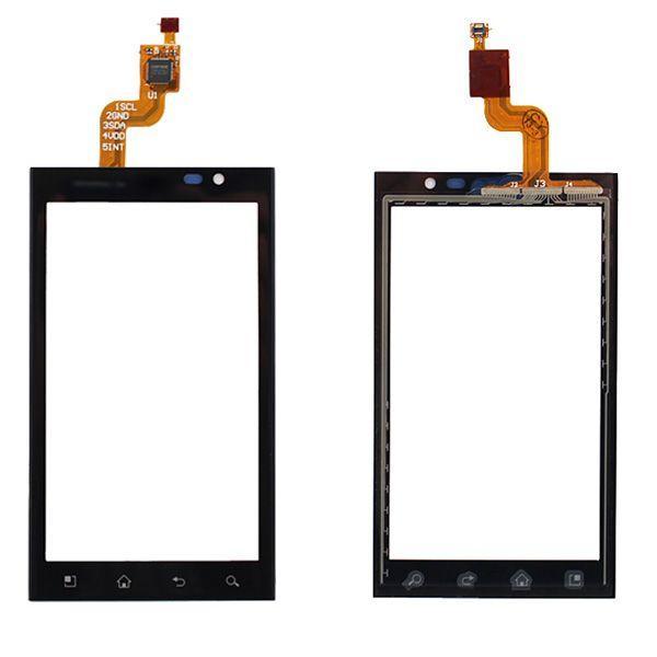 Сенсор (тачскрин) для телефона LG Optimus 3D P920 Black