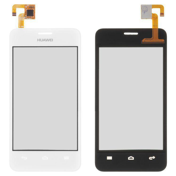 Сенсор (тачскрин) для телефона Huawei Ascend Y320-U30 Dual Sim (без разъема для камеры) White