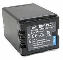 Акумулятор для відеокамер Panasonic VW-VBN390 (3750 mAh) DV00DV1365 ExtraDigital
