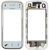 Сенсор (тачскрин) для телефона Nokia N97 Mini with frame White