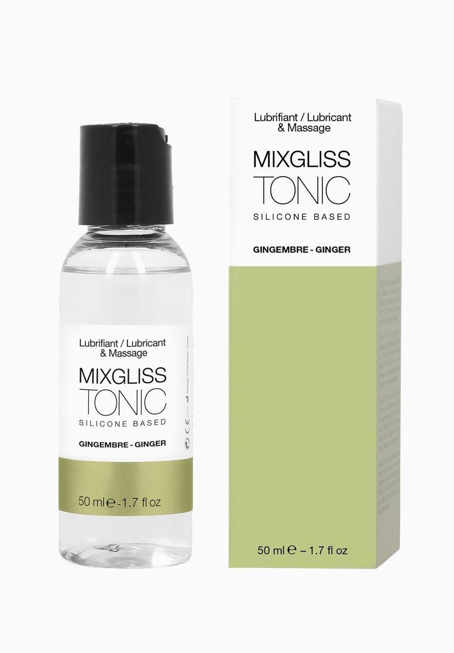 Распродажа! Лубрикант на силиконовой основе MixGliss TONIC - GINGEMBRE 50 мл (срок годности 10.2020)