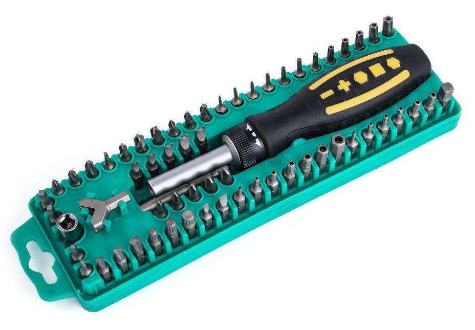 Отвертка с набором бит Pro'sKit SD-205 (57шт)