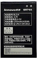 Аккумулятор Lenovo A208 IdeaPhone / BL214 (1300 mAh) 12 мес. гарантии