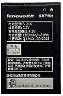 Акумулятор Lenovo A208 IdeaPhone / BL214 (1300 mAh) Original