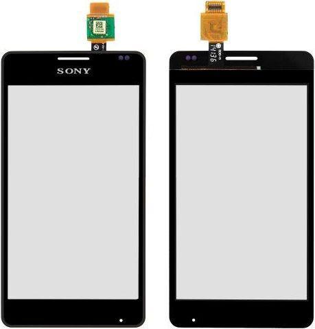 Сенсор (тачскрин) Sony Xperia E1 D2004, D2005, D2104, D2105, Xperia E1 TV D2114 (original) Black