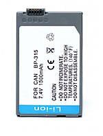 Акумулятор для відеокамери Canon BP-315 (1500 mAh)