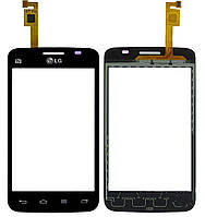Сенсор (тачскрін) Lg Optimus L4 Dual Sim E445 Black