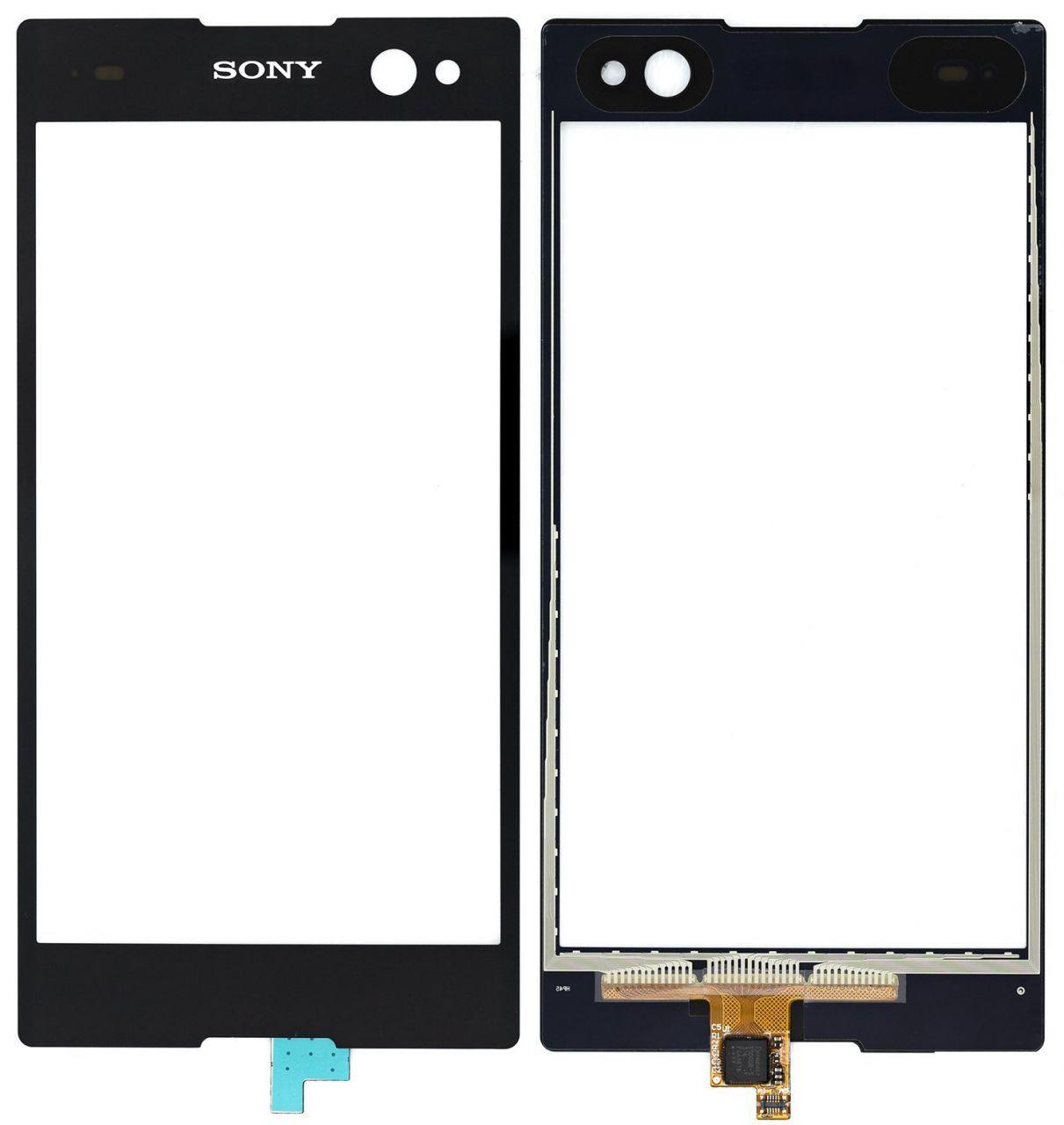 Сенсор (тачскрін) Sony Xperia C3 Dual D2502, D2533 (copy) Black