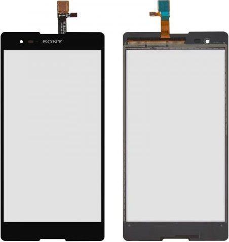 Сенсор (тачскрин) для телефона Sony Xperia T2 Ultra D5303, D5306, D5322 (original) Black