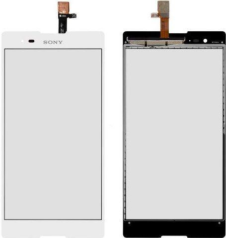Сенсор (тачскрин) Sony Xperia T2 Ultra D5303, D5306, D5322 (original) White