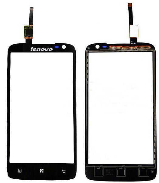 Сенсор (тачскрін) Lenovo S820 Black