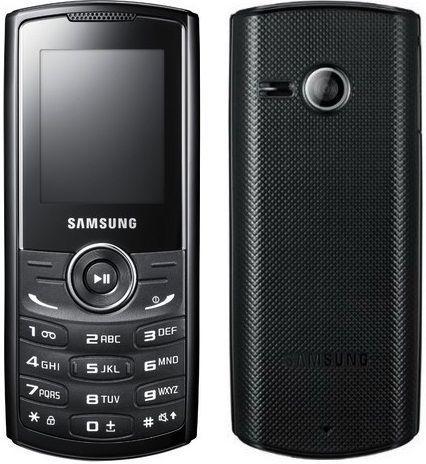 Корпус Samsung E2230 Black
