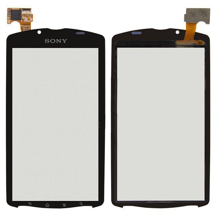 Сенсор (тачскрин) для телефона Sony Xperia Neo L MT25i, Xperia Play R800i Black