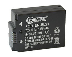 Акумулятор для фотоапарата Nikon EN-EL21 (1485 mAh) DV00DV1388 ExtraDigital