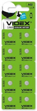 Батарейки для часов Videx SR621SW (364) (164) (AG1) 10шт