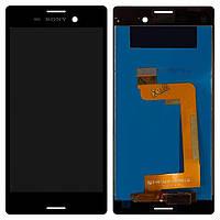 Дисплей (экран) для телефона Sony Xperia M4 Aqua E2303, E2306, E2312, E2333, E2353, E2363 + Touchscreen Original Black