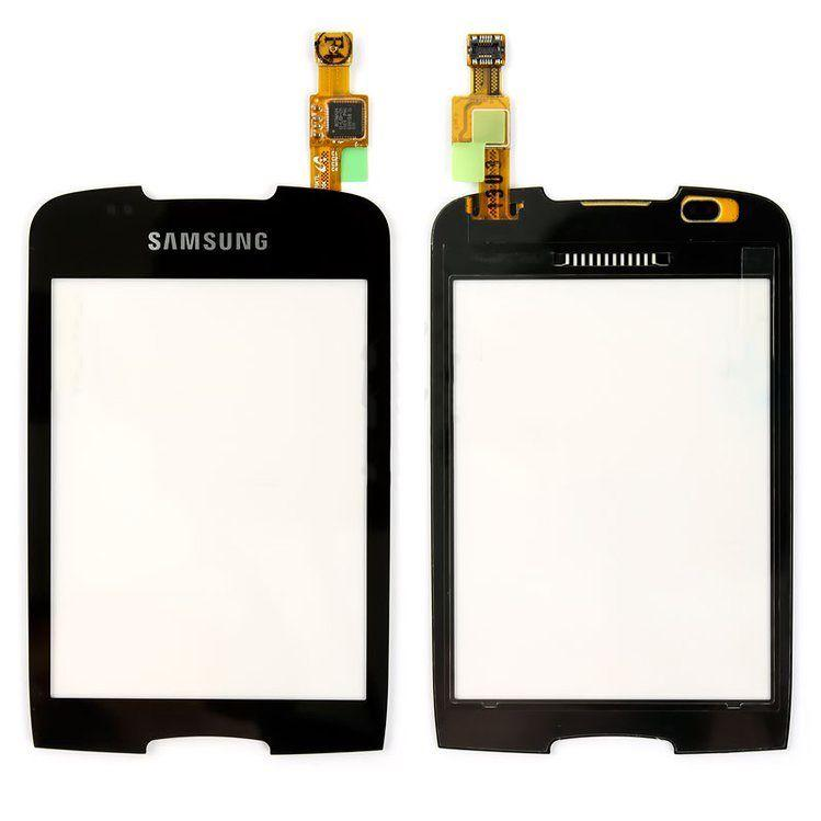 Сенсор (тачскрин) для телефона Samsung Galaxy Mini S5570 Black
