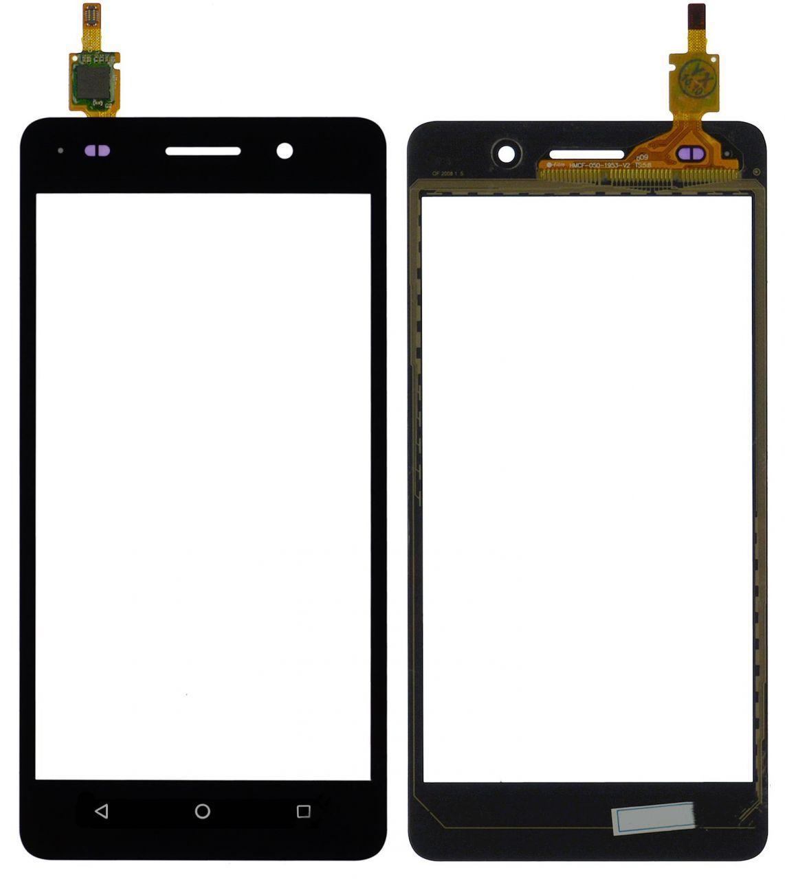 Сенсор (тачскрин) для телефона Huawei Honor 4C Black